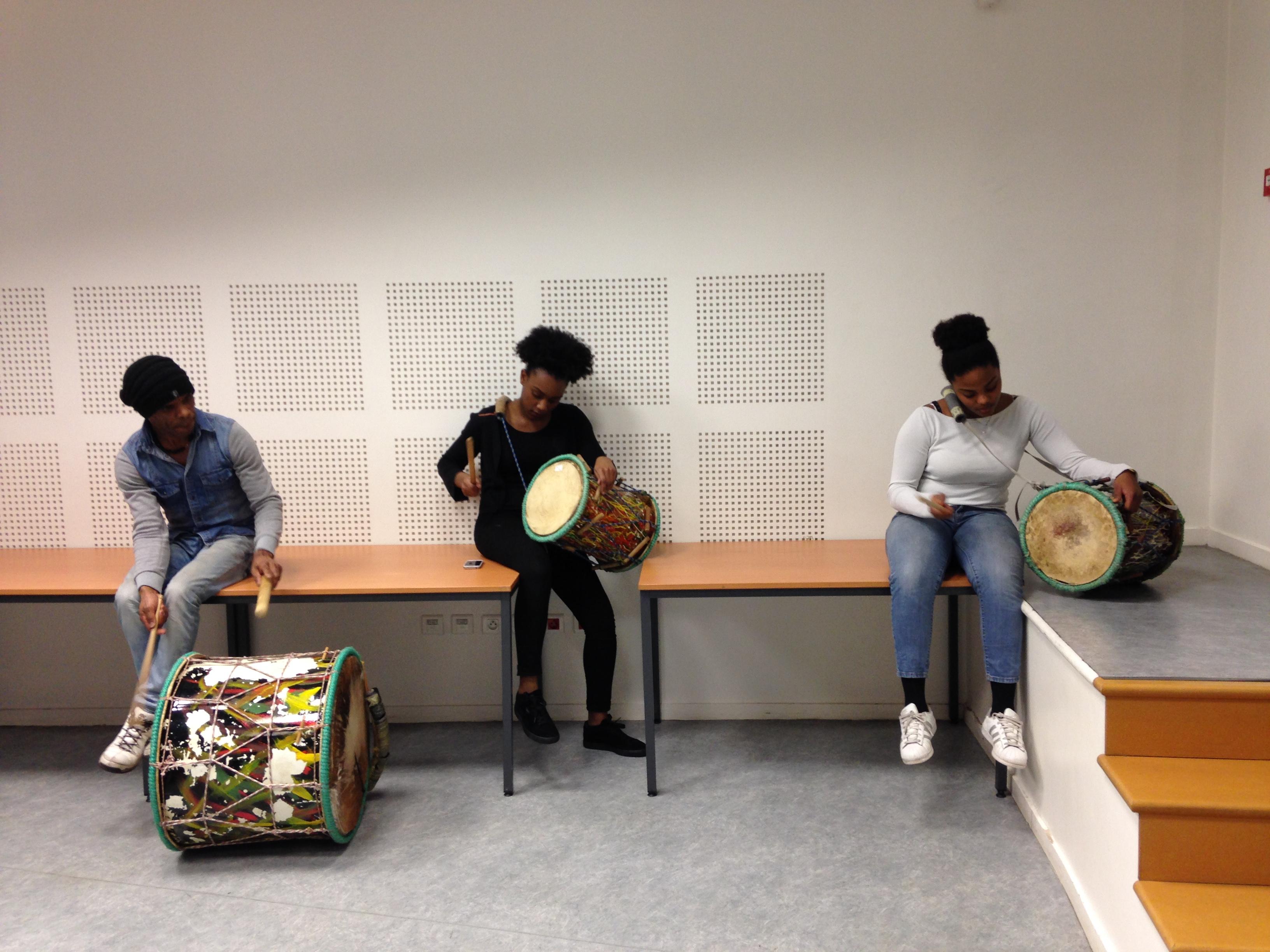 Atelier de percussions